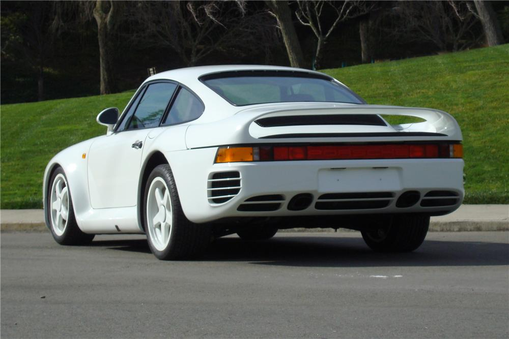 1986 PORSCHE 959 PROTOTYPE - Rear 3/4 - 138389