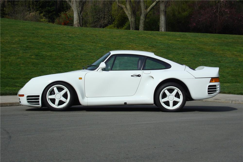 1986 PORSCHE 959 PROTOTYPE - Side Profile - 138389
