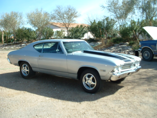 1968 CHEVROLET CHEVELLE CUSTOM 2 DOOR COUPE - Side Profile - 138398