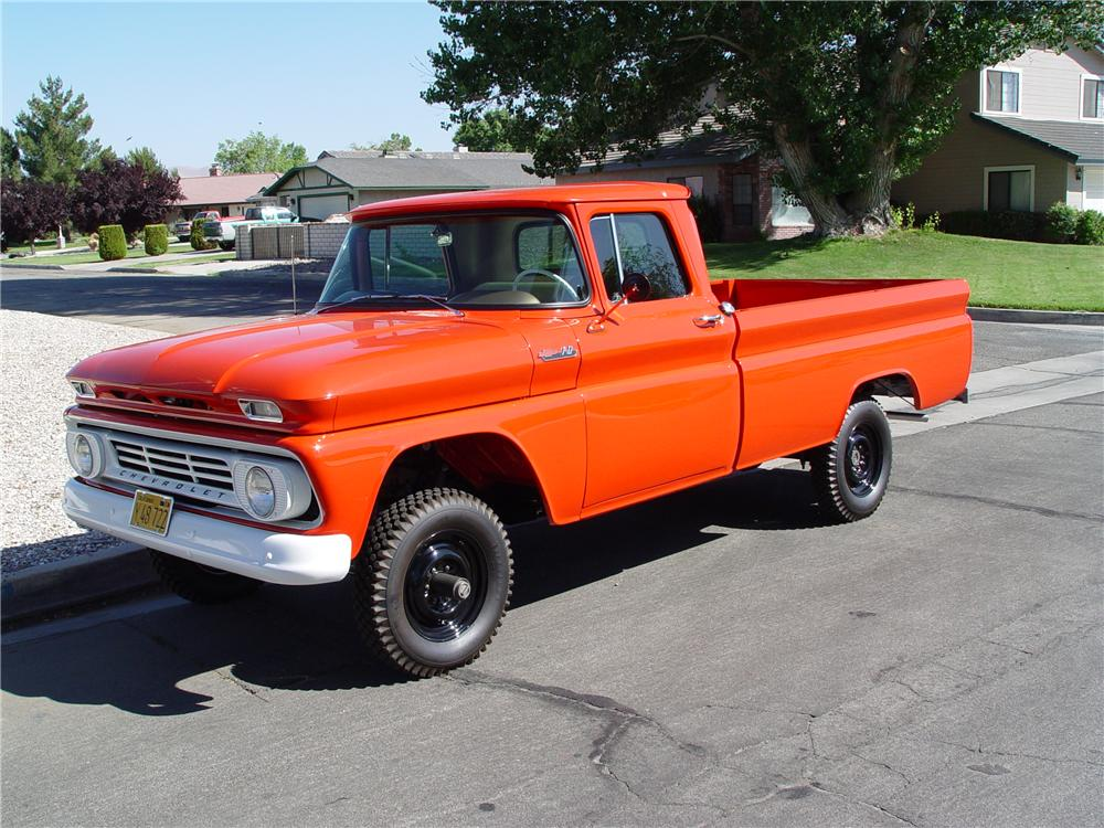 1962 chevrolet k10 4x4 1 2 ton pickup 138407. Black Bedroom Furniture Sets. Home Design Ideas
