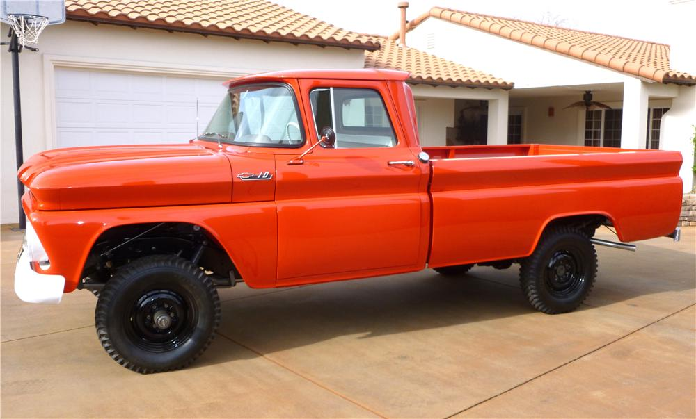 1962 CHEVROLET K10 4X4 1/2 TON PICKUP - Side Profile - 138407