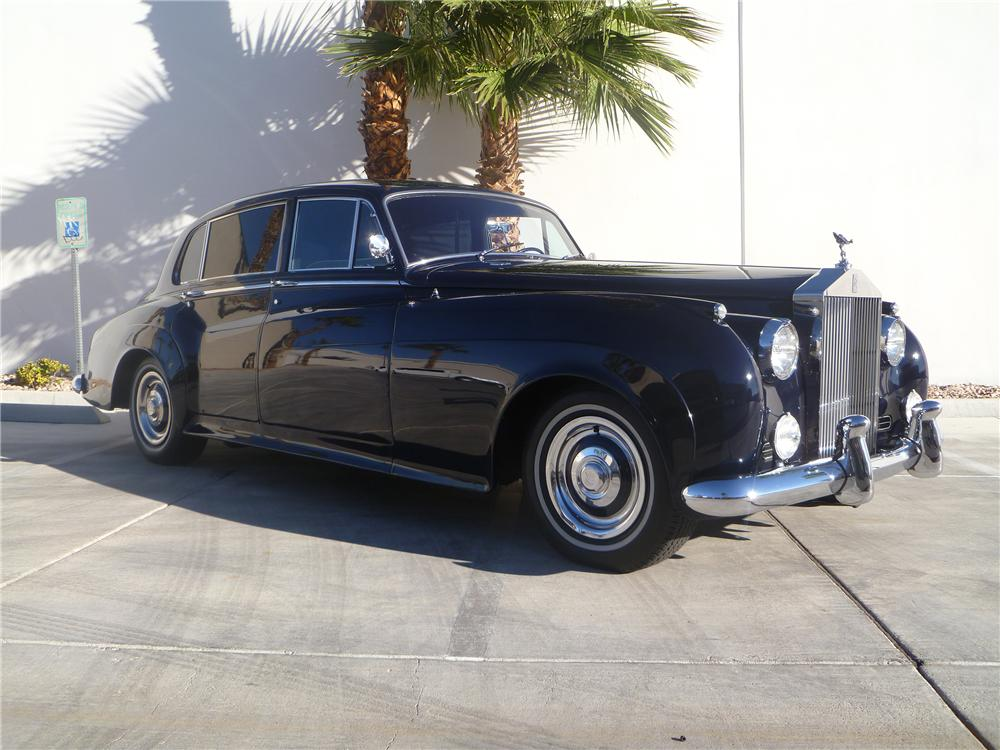 1961 ROLLS-ROYCE SILVER CLOUD II 4 DOOR SEDAN - Front 3/4 - 138411