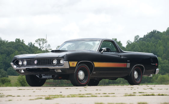 1970 FORD RANCHERO GT PICKUP - Front 3/4 - 138413