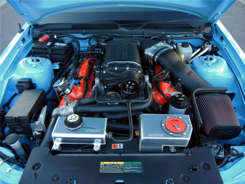 2008 SHELBY GT500 CUSTOM FASTBACK - Engine - 138416