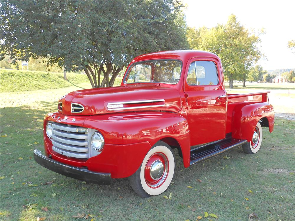 1950 FORD F-1 PICKUP - Front 3/4 - 138434