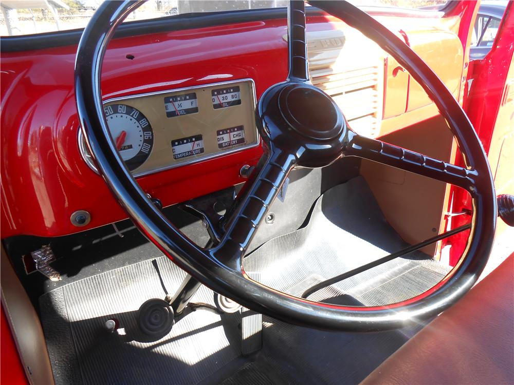 1950 FORD F-1 PICKUP - Interior - 138434