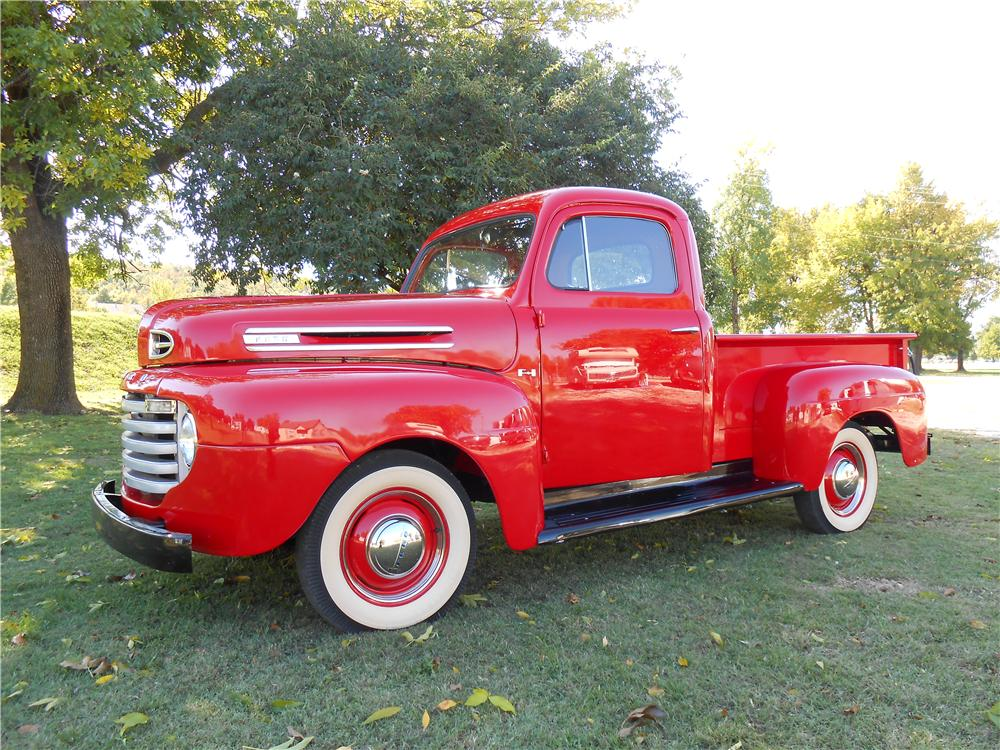 1950 FORD F-1 PICKUP - Side Profile - 138434