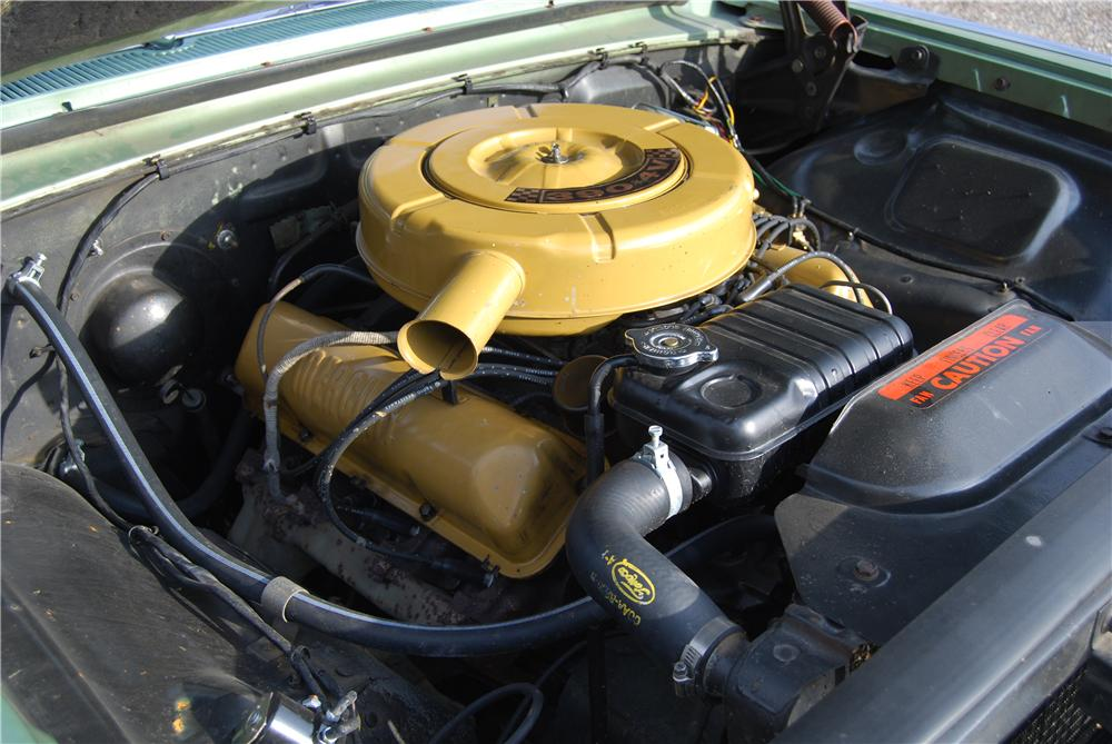 1963 MERCURY MARAUDER FASTBACK - Engine - 138436