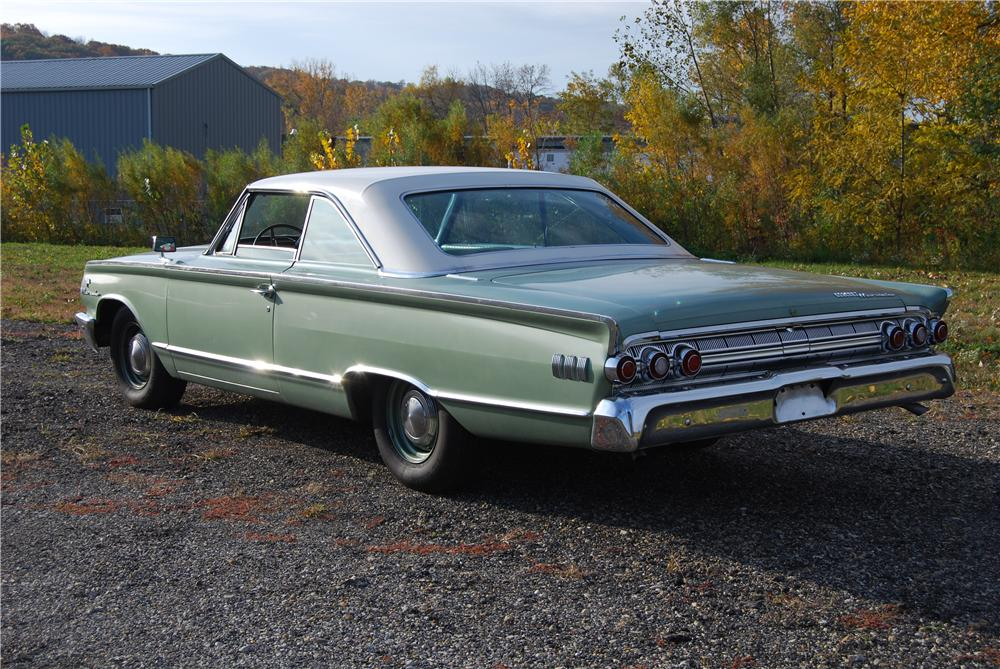 1963 MERCURY MARAUDER FASTBACK - Rear 3/4 - 138436