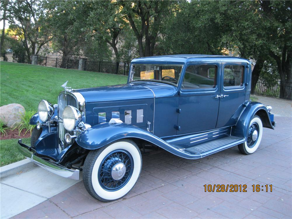 1932 FRANKLIN CLUB SEDAN - Front 3/4 - 138439