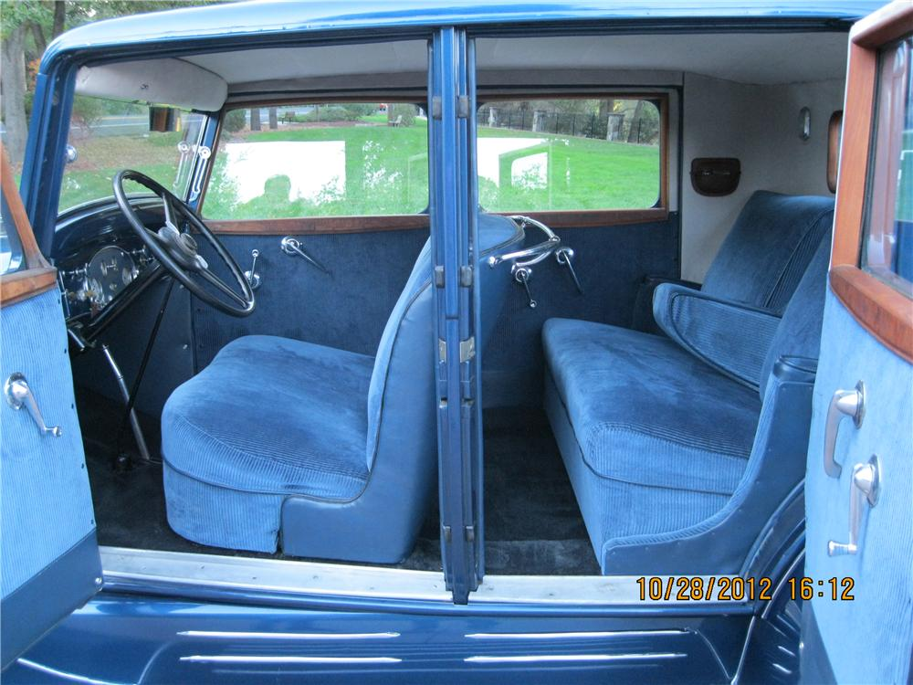 1932 FRANKLIN CLUB SEDAN - Interior - 138439