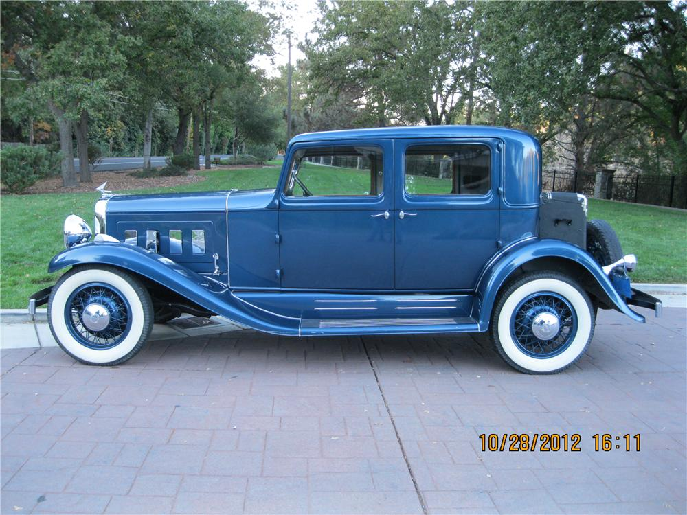 1932 FRANKLIN CLUB SEDAN - Side Profile - 138439