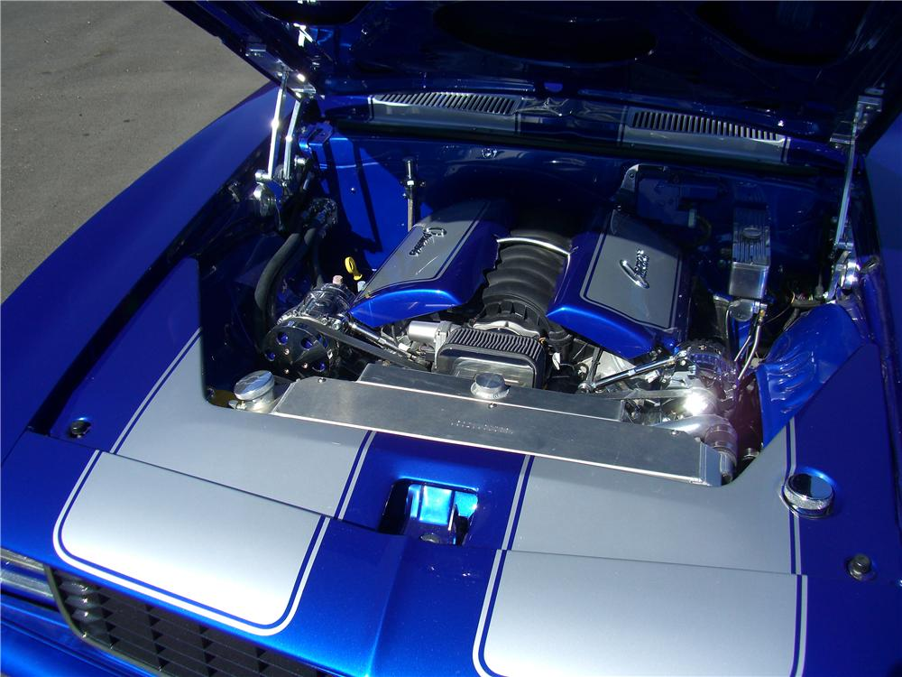 1969 CHEVROLET CAMARO CUSTOM CONVERTIBLE - Engine - 138445