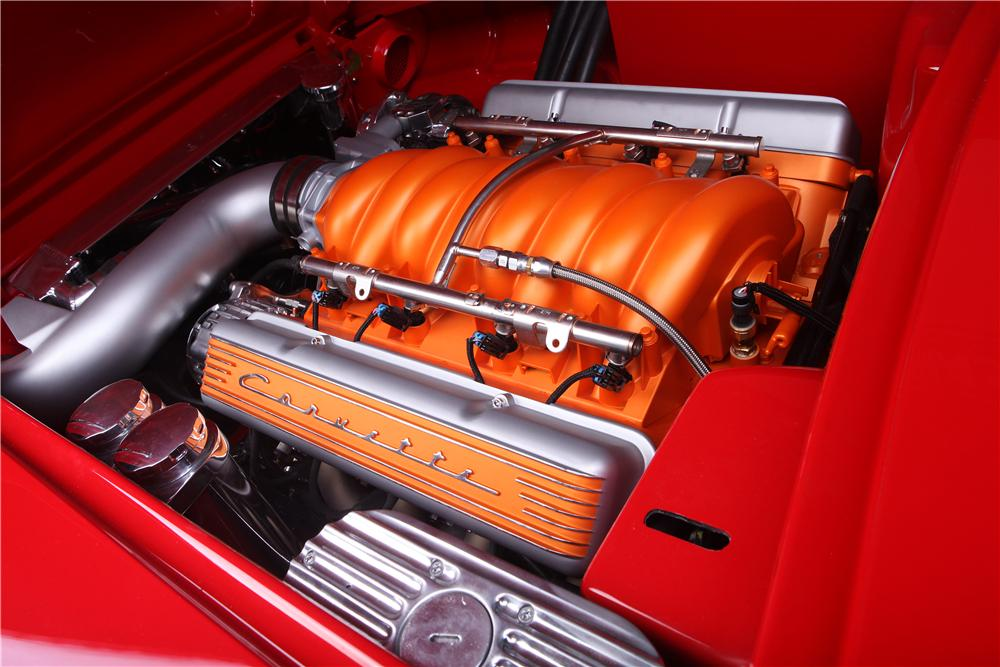 1960 CHEVROLET CORVETTE CUSTOM CONVERTIBLE - Engine - 138446