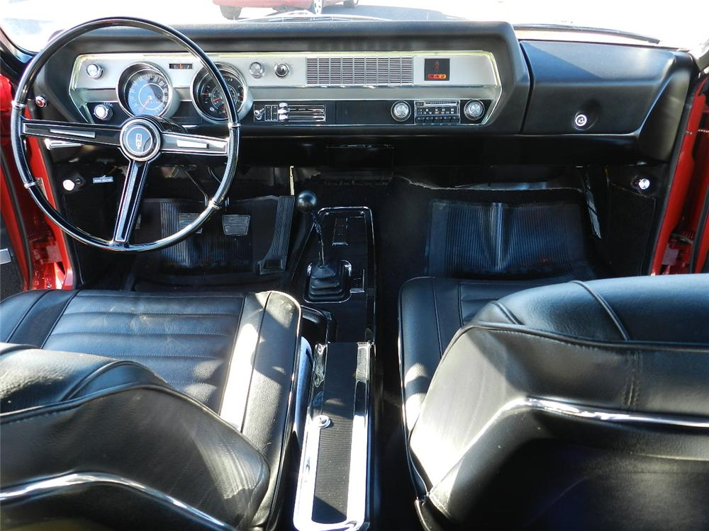 1967 OLDSMOBILE 442 2 DOOR COUPE - Interior - 138449