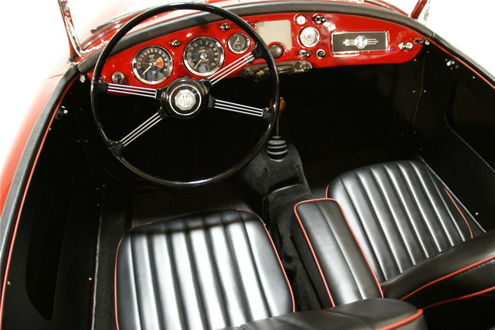 1960 MG A 1600 TOURER ROADSTER - Interior - 138455