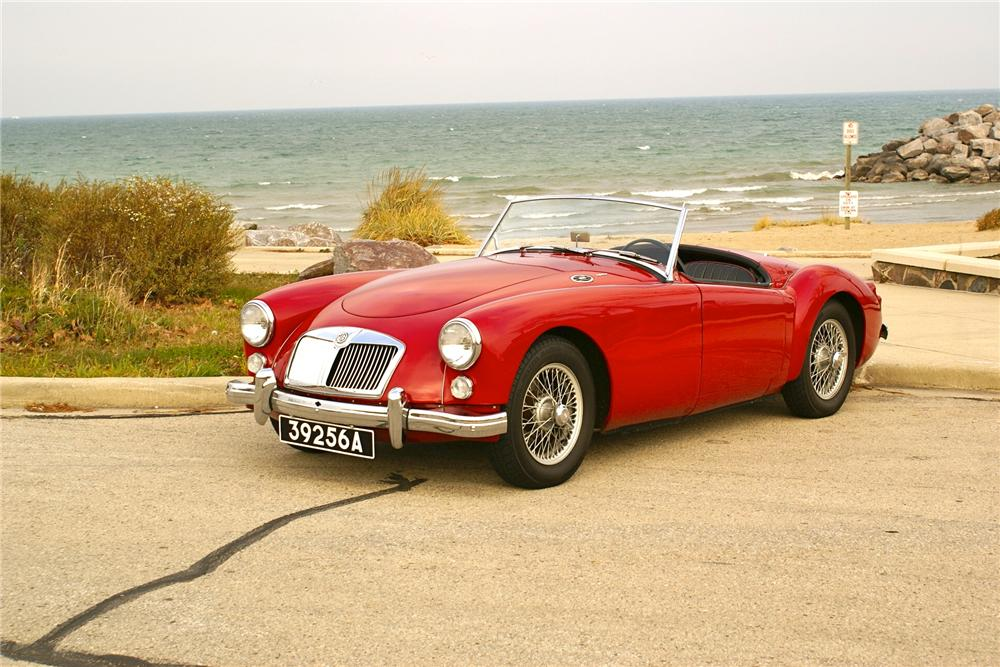 1960 MG A 1600 TOURER ROADSTER - Side Profile - 138455