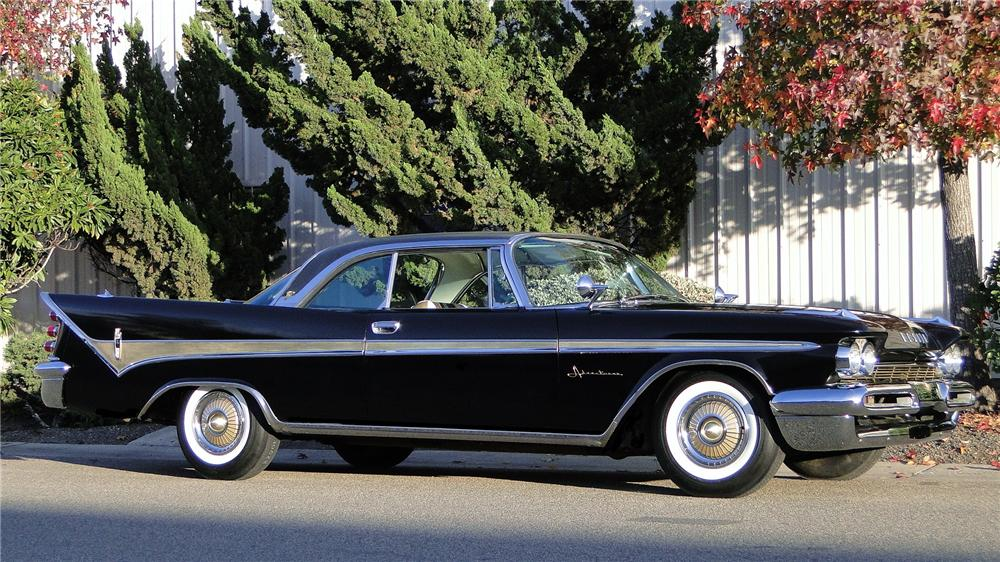 1959 DESOTO ADVENTURER SPORT COUPE - Front 3/4 - 138460