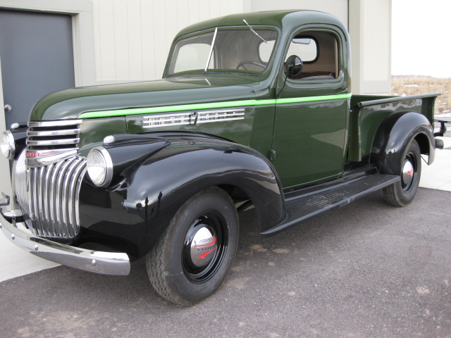 1946 CHEVROLET 1/2 TON PICKUP - Side Profile - 138461