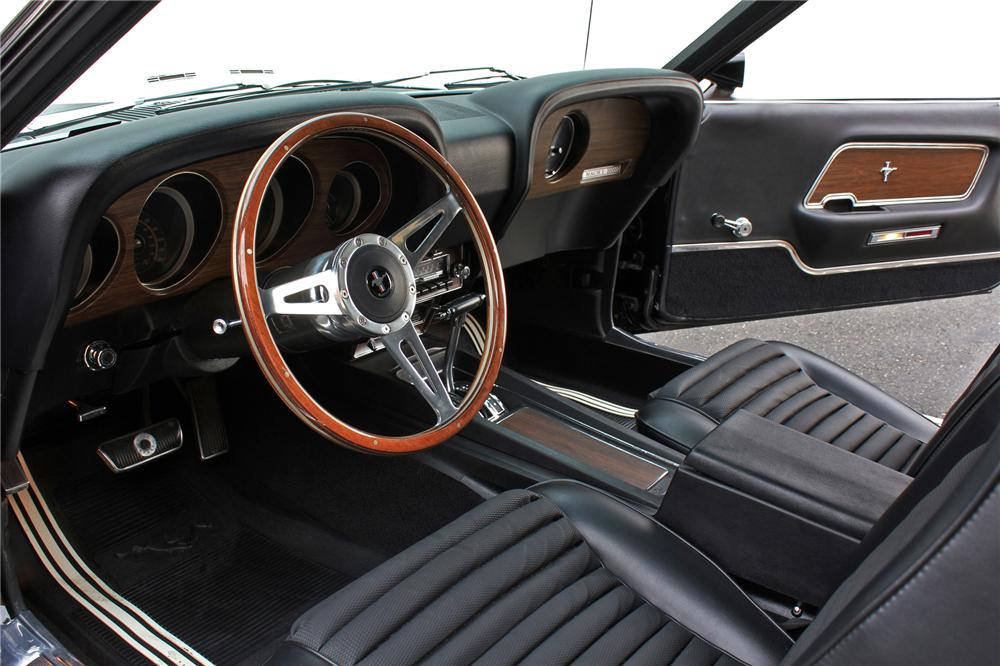1970 FORD MUSTANG MACH 1 FASTBACK - Interior - 138464