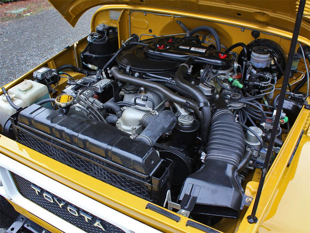 1981 TOYOTA LAND CRUISER FJ-40  - Engine - 138466