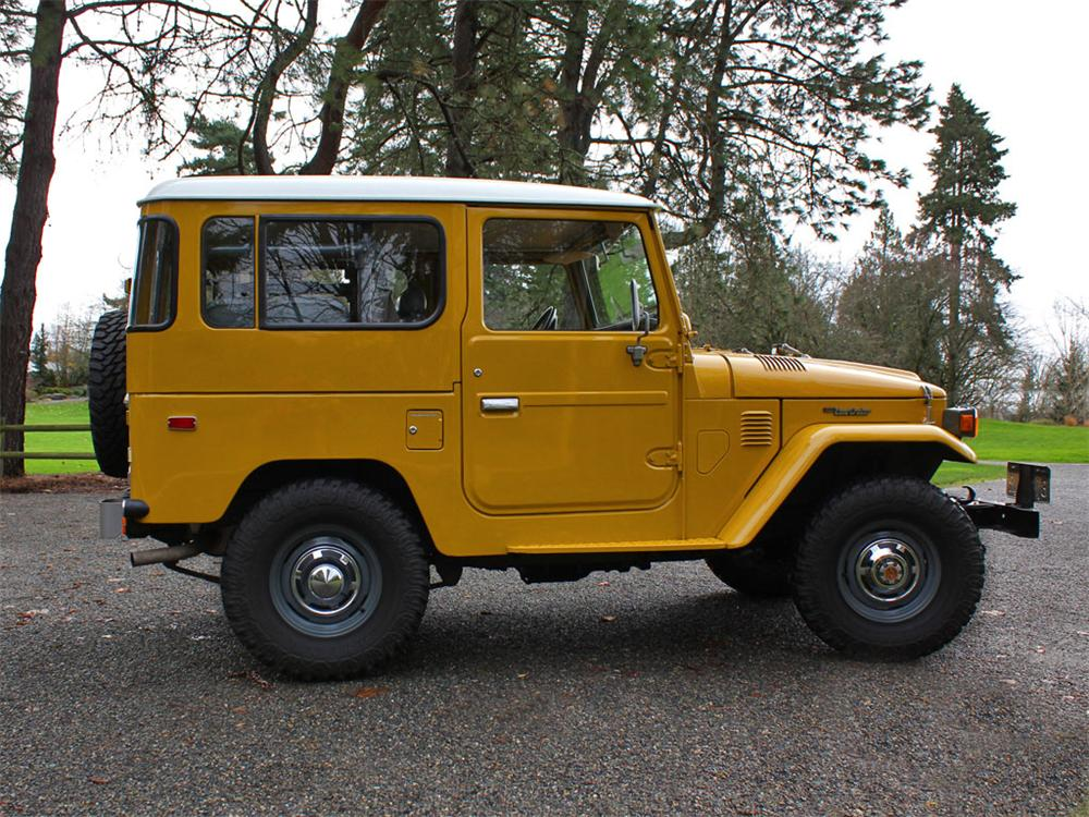 1981 TOYOTA LAND CRUISER FJ-40  - Side Profile - 138466