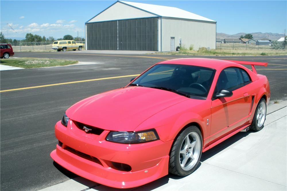 """2000 FORD MUSTANG COBRA """"R"""" 2 DOOR COUPE - Front 3/4 - 138473"""