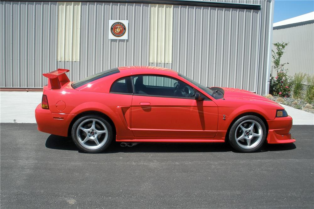 """2000 FORD MUSTANG COBRA """"R"""" 2 DOOR COUPE - Side Profile - 138473"""