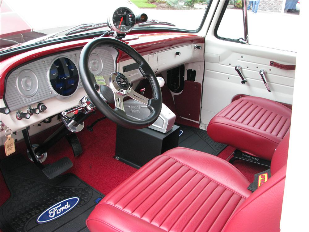 1963 FORD F-100 CUSTOM PICKUP - Interior - 138481
