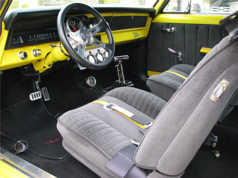 1967 CHEVROLET NOVA SS CUSTOM 2 DOOR HARDTOP - Interior - 138482