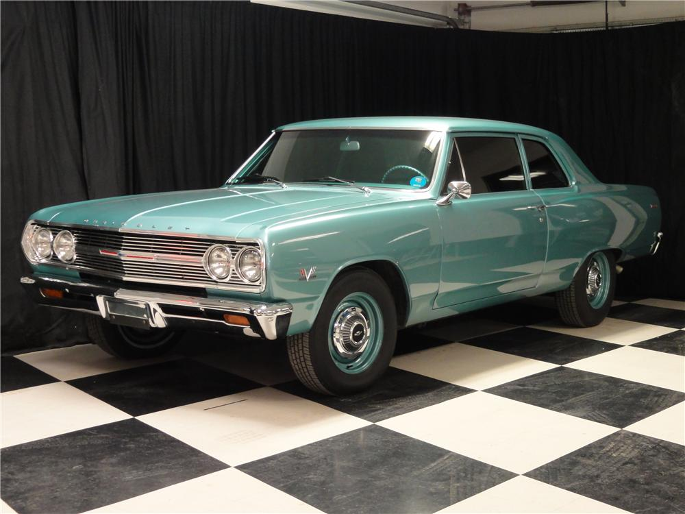 1965 Chevrolet Chevelle 300 Custom 2 Door Hardtop 138496