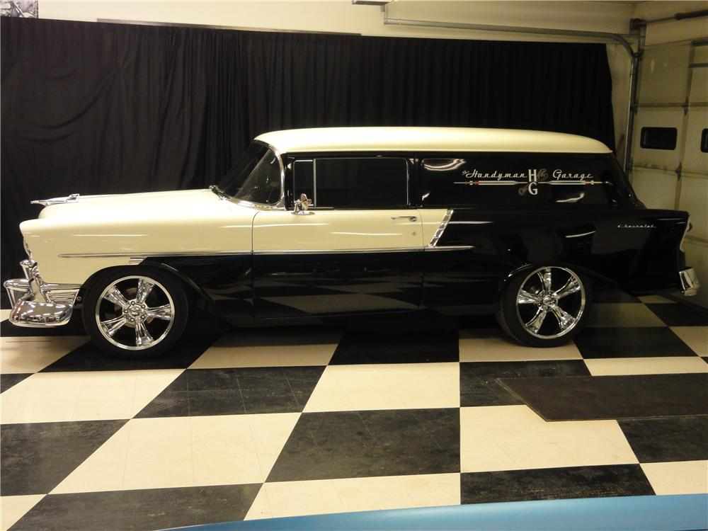 1956 CHEVROLET CUSTOM SEDAN DELIVERY - Side Profile - 138499