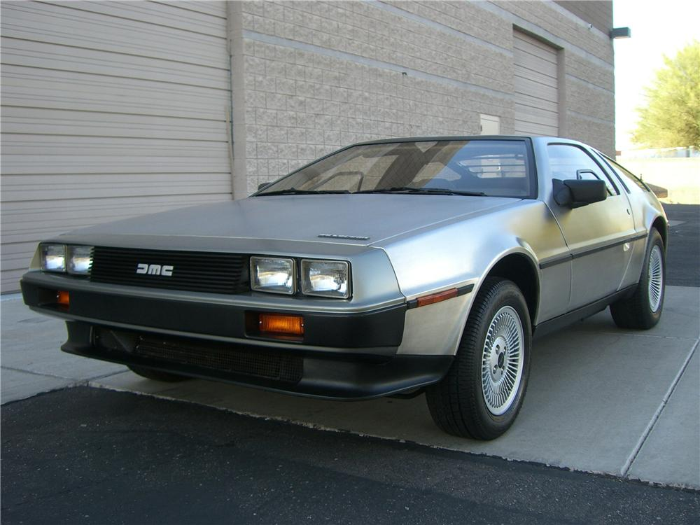 1983 DELOREAN DMC-12 SPORTS COUPE - Front 3/4 - 138502