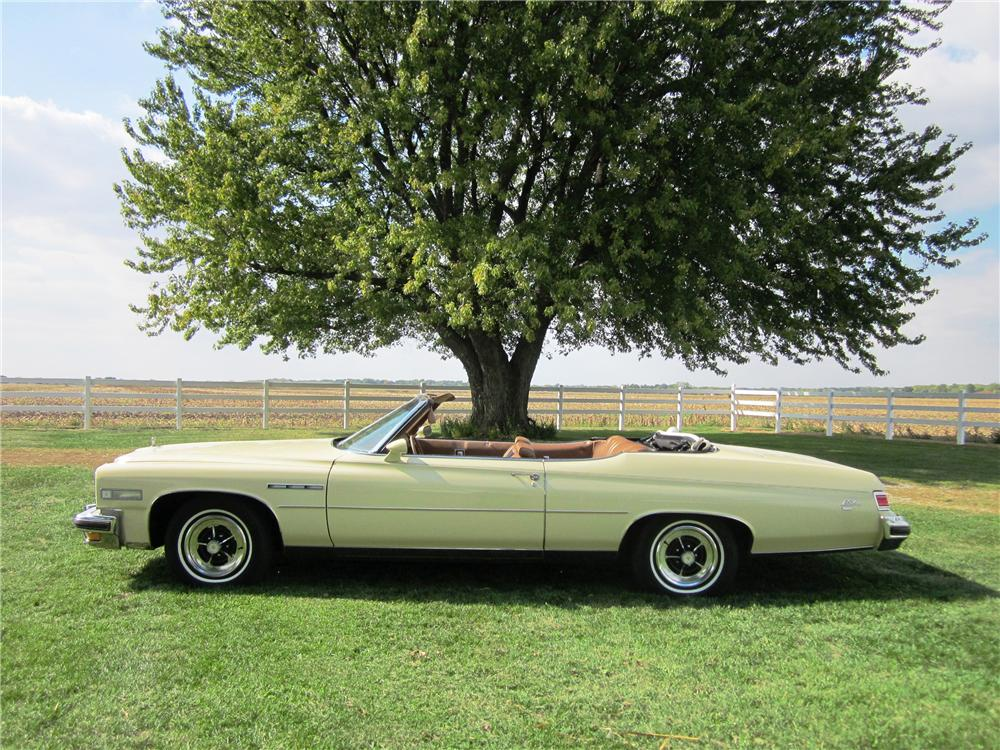 1975 BUICK LE SABRE CONVERTIBLE - Side Profile - 138504