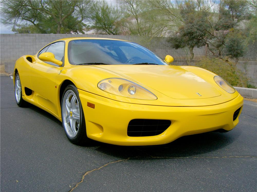 2003 ferrari 360 modena 2 door coupe 138505. Black Bedroom Furniture Sets. Home Design Ideas