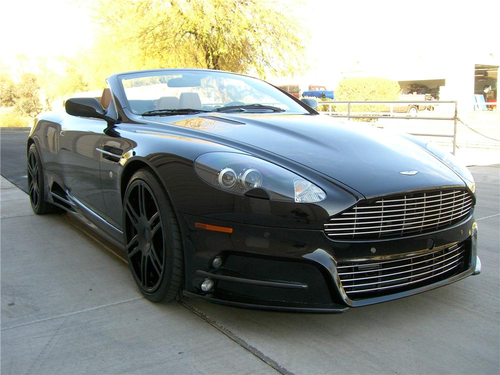 2007 aston martin db9 volante convertible 138506. Black Bedroom Furniture Sets. Home Design Ideas