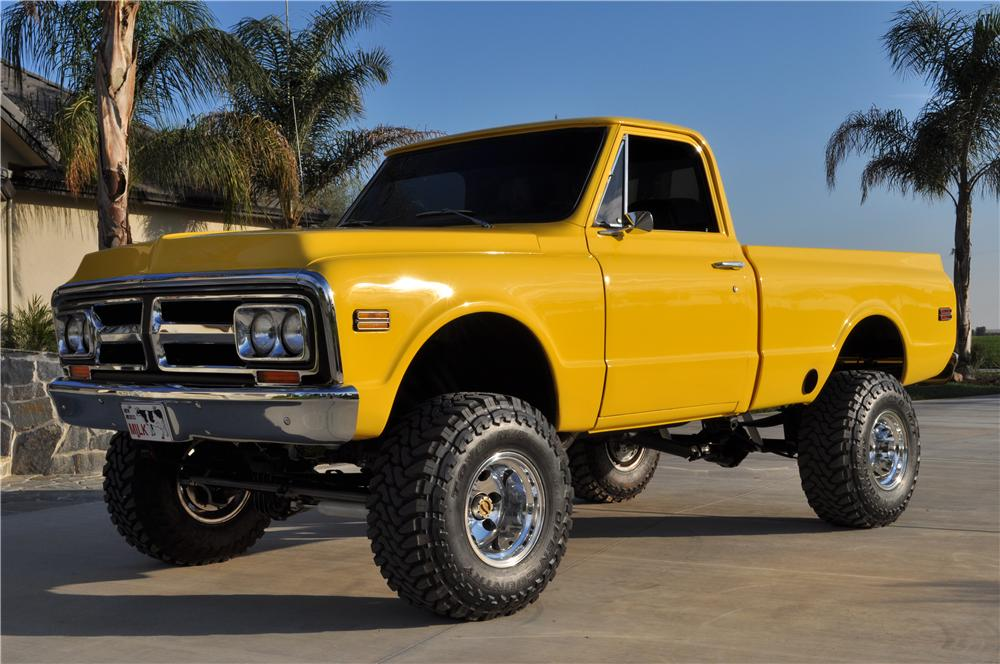 1972 GMC CUSTOM 4X4 PICKUP - Front 3/4 - 138518