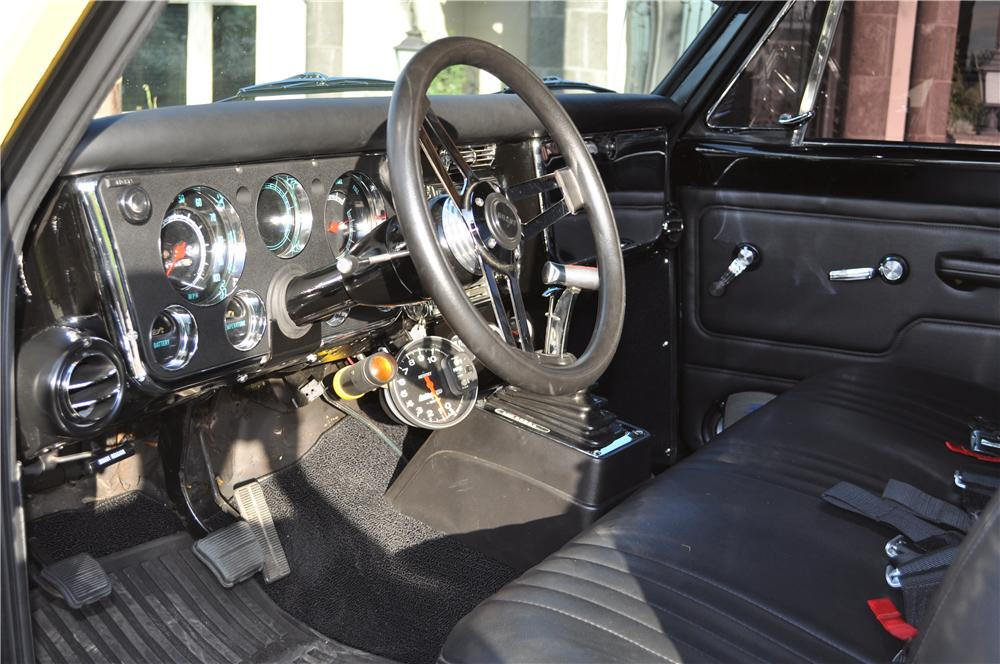 1972 GMC CUSTOM 4X4 PICKUP - Interior - 138518