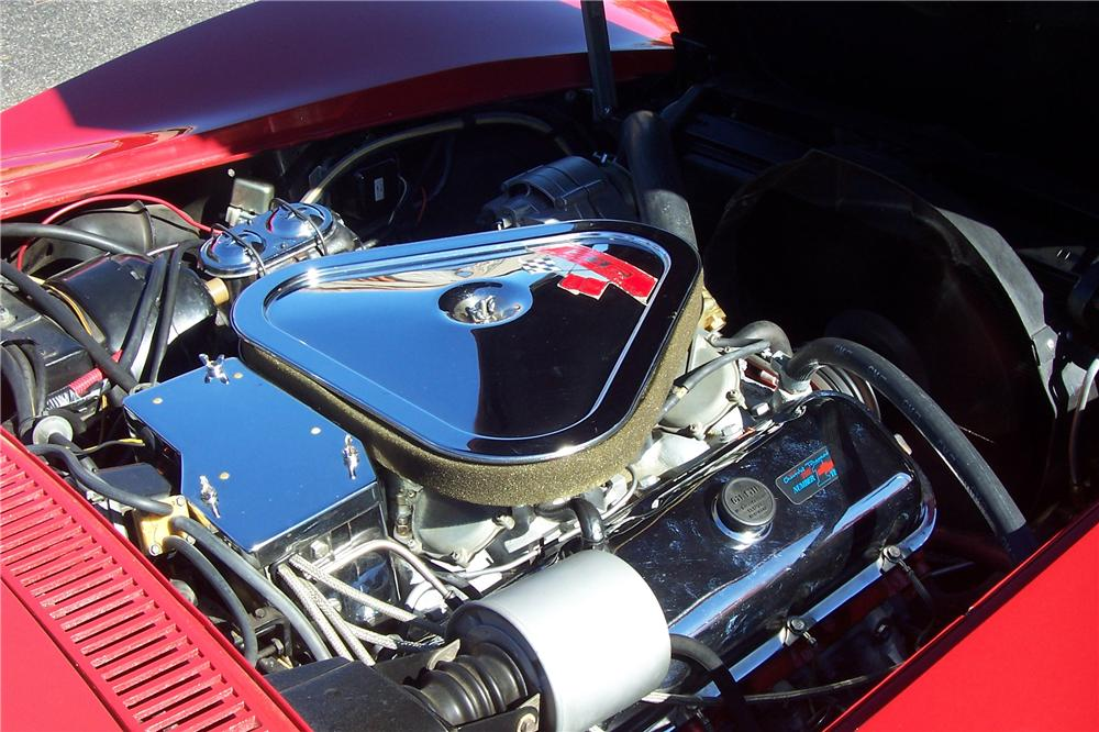 1968 CHEVROLET CORVETTE 2 DOOR COUPE - Engine - 138521