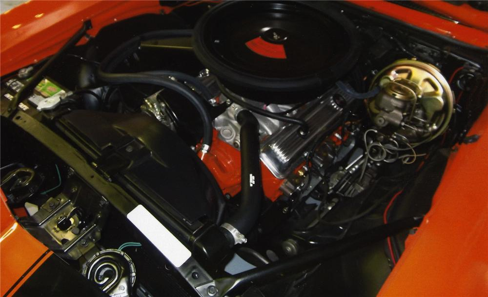 1969 CHEVROLET CAMARO 2 DOOR COUPE - Engine - 138585