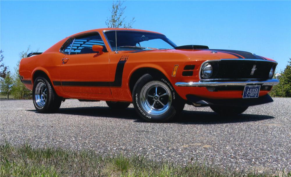 1970 FORD MUSTANG BOSS 302 RE-CREATION - Front 3/4 - 138588