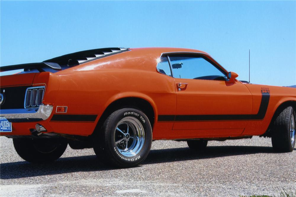 1970 FORD MUSTANG BOSS 302 RE-CREATION - Side Profile - 138588