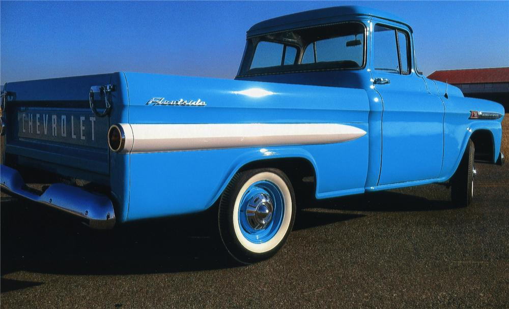 1959 CHEVROLET APACHE PICKUP - Rear 3/4 - 138589
