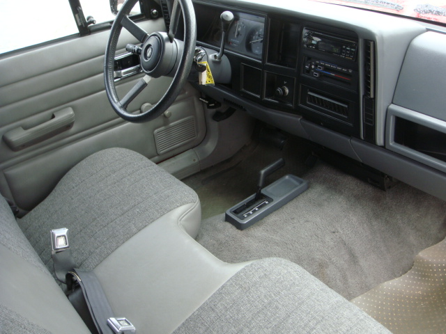 1992 JEEP COMANCHE CUSTOM PICKUP - Interior - 138738