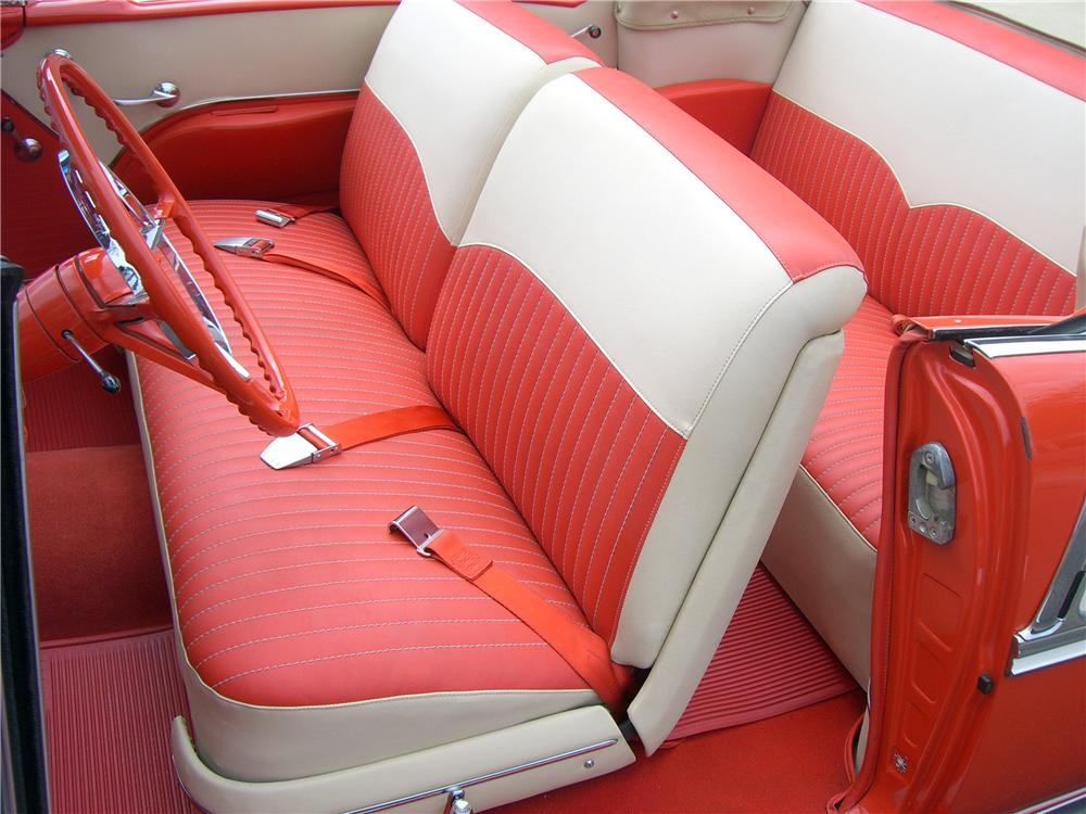 1955 CHEVROLET BEL AIR CONVERTIBLE - Interior - 138759