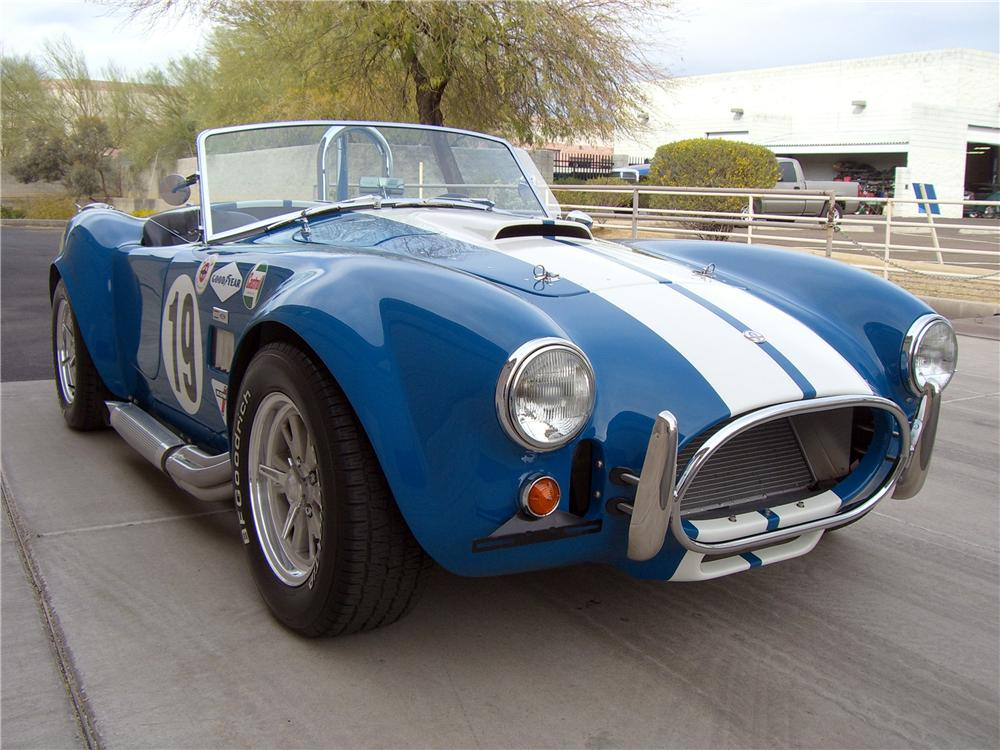 2005 FACTORY FIVE COBRA RE-CREATION ROADSTER - Front 3/4 - 138760