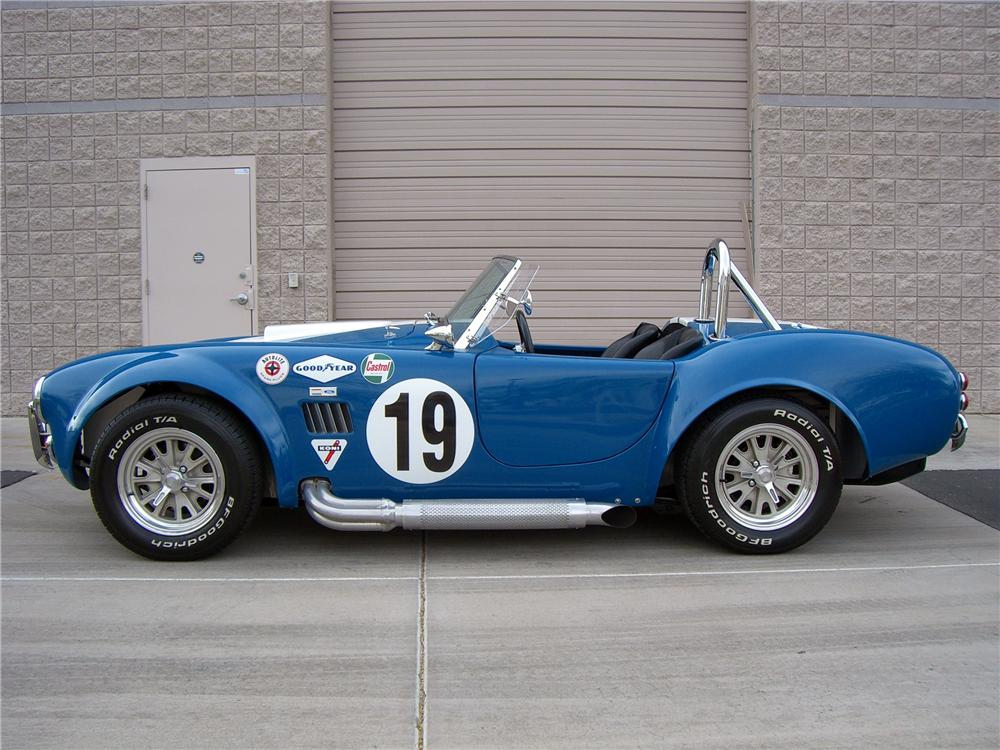 2005 FACTORY FIVE COBRA RE-CREATION ROADSTER - Side Profile - 138760