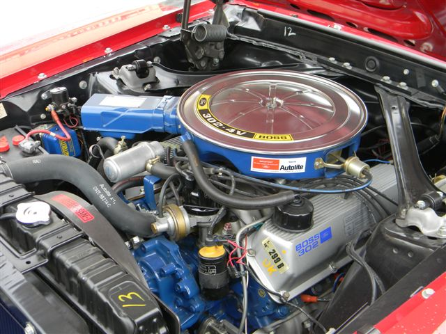 1970 FORD MUSTANG BOSS 302 FASTBACK - Engine - 138765