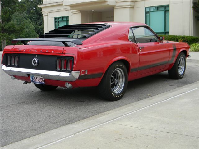 1970 FORD MUSTANG BOSS 302 FASTBACK - Rear 3/4 - 138765