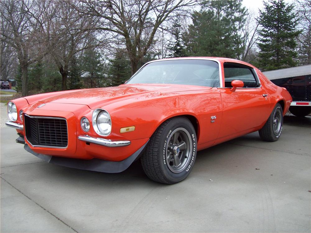1970 CHEVROLET CAMARO 2 DOOR COUPE - Front 3/4 - 138768